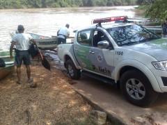 Polícia Ambiental irá percorrer os rios da região para fiscalizar a pesca irregular. (Foto: Carlos Alberto Soares / TV Tem)