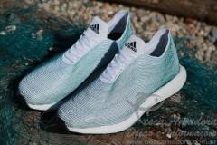 Adidas lanca tenis feito com redes de pesca e lixo de praia 2