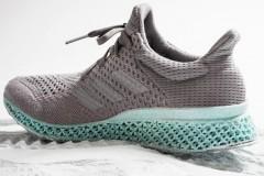 Adidas produz primeiro tenis feito com redes de pesca em impressora 3D 2