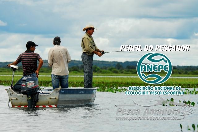 Anepe lanca pesquisa para tracar perfil do pescador esportivo