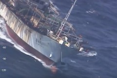 Argentina afunda barco Chines que praticava pesca ilegal na provincia de Chubut 2