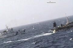 Argentina afunda barco Chines que praticava pesca ilegal na provincia de Chubut
