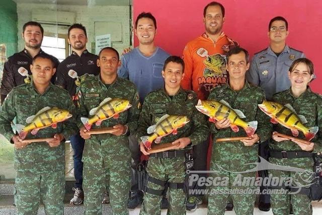 Associacao de pesca esportiva homenageia Batalhao Ambiental de Manaus
