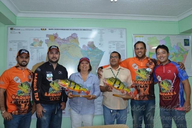 Associacao de pesca esportiva homenageia IPAAM em Manaus-AM 2