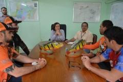 Associacao de pesca esportiva homenageia IPAAM em Manaus-AM