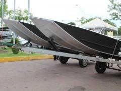Barcos cedidos pelo TJMT ao Juvam para reforcar fiscalizacao no MT 2