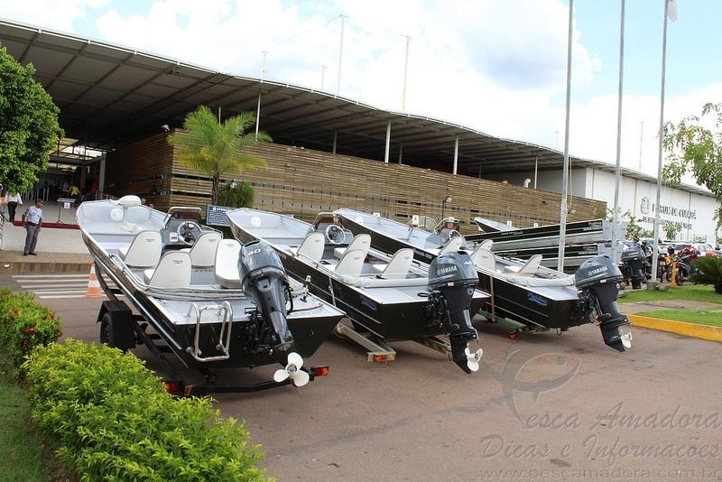 Barcos cedidos pelo TJMT ao Juvam para reforcar fiscalizacao no MT