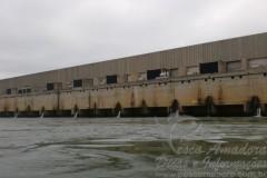 Barragem da Usina de Sergio Mota no Rio Parana