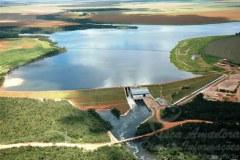 Barragem no Rio Verde no municipio de Lucas do Rio Verde-MT