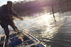 Batalhao Ambiental Combate a Pesca Predatoria nos rios de Goias
