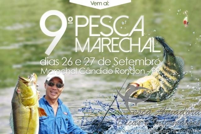 Bnner da nona etapa pesca Marechal-PR