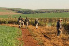 Brigada Militar apreende redes durante fiscalizacao no Rio Uruguai no RS 4