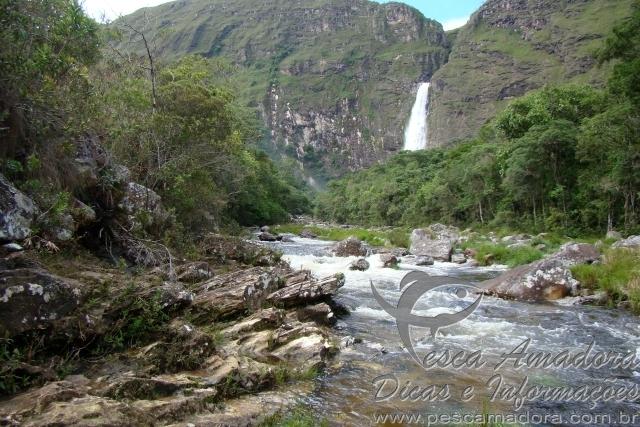 Cachoeira da Casta danta na Serra da Canastra em Minas Gerais 2