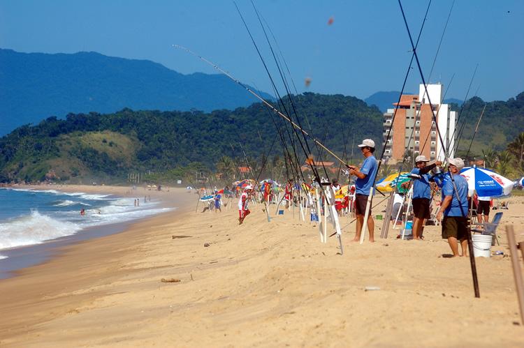 Campeonato Brasileiro de pesca e lancamento em Caraguatatuba-SP