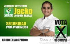 Candidato a presidente pelo partido verde no Mexico comete crime ambiental