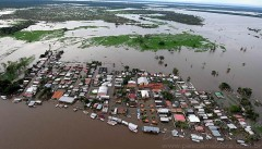 Cheia dos rios na Amazonia