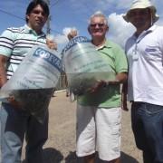 Codevasf realiza peixamento em Alagoas