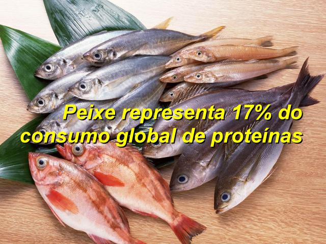 Consumo de peixe no mundo