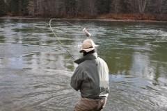 Dicas de pescaria durante o inverno - Flyfishing