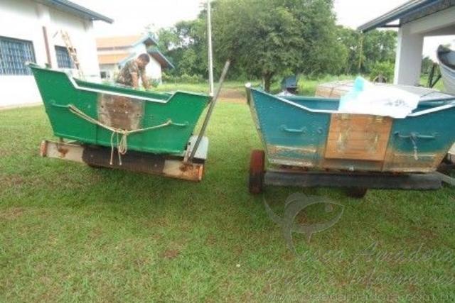 Dois sao presos e multados em R$20 mil por pesca ilegal no Rio Parana em MS