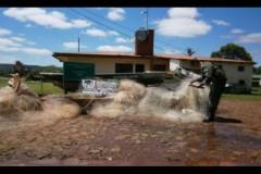 Durante fiscalizacao 65 redes de pesca sao apreendidas na Argentina