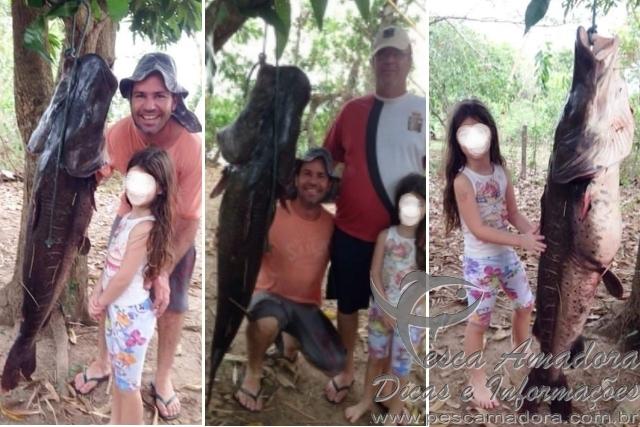 Empresario abate pintado de cerca de 38 kg no MT