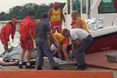 Equipe de buscas encontram corpos proximo a Laje de Santos