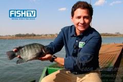 Fabio apresentador do programa Panorama Aqua Negocios