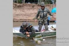Fiscalizacao apreende 127kg de pescado ilegal no MT