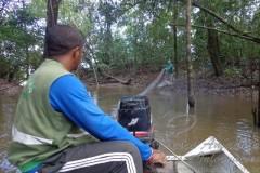 Fiscalizacao apreende 35 malhadores durante a piracema em Roraima 2