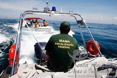 Fiscalizacao do Ibama no litoral Brasileiro conta com apenas tres barcos
