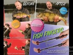 Fish Fingers produto para selfies de peixes capa