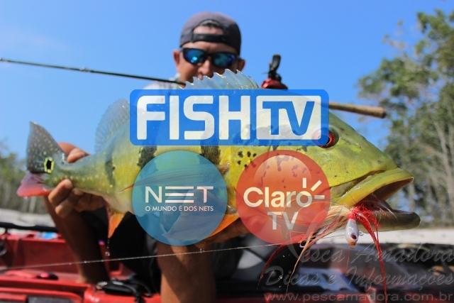 FishTv entra na grade das operadoras Net Tv e Claro TV a partir do dia 18