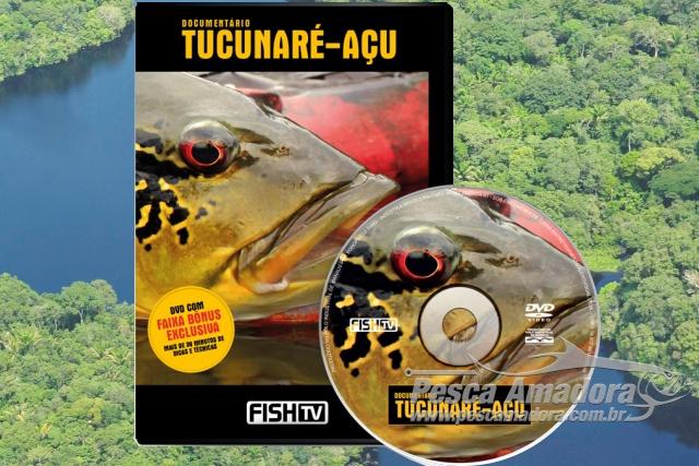 Fishtv lanca documentario sobre o Tucunare-Acu capa