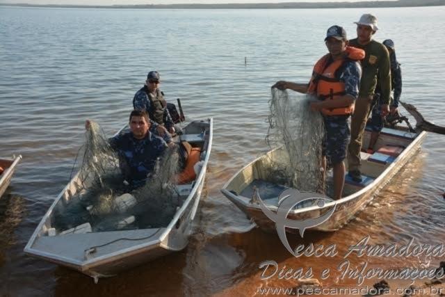Forca tarefa combate pesca predatoria no Lago de Palmas-TO 2