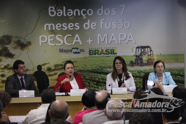 Fusao entre Ministerio da Pesca e MAPA gera economia de R$ 287 milhoes