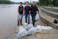Grupo realiza soltura equivocada de alevinos no Rio Guaçú-SP