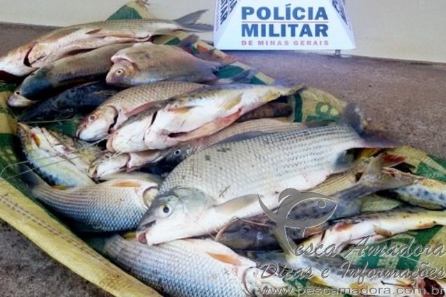 Homem e preso por pesca predatoria no Rio da Prata-MG