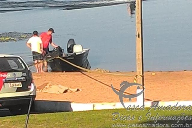 Homem morre durante pesca subaquatica em Buritama-SP