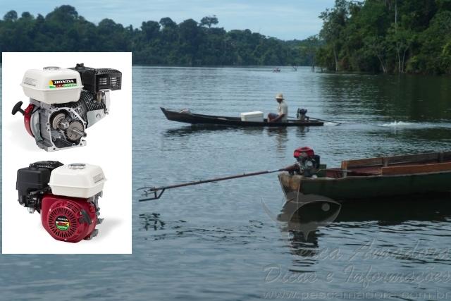 Honda lanca novo motor visando os ribeirinhos do Norte e Nordeste do Brasil