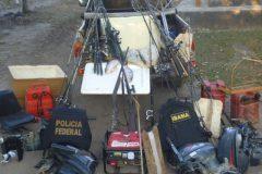 Ibama queima barcos contra pescaria ilegal em terra indigena em MT 2