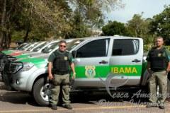 Ibama renova frota com 4oo novas caminhonetes Hillux e L200 para fiscalizacao