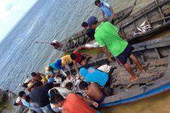 Icmbio e Ibama apreendem 3,2 toneladas de pescado ilegal no Para