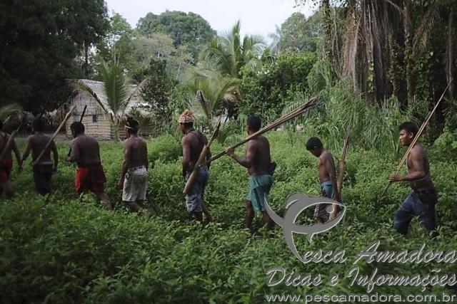 Indios munduruku-AM - Foto Folha de SP