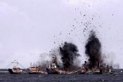 Indonesia afunda mais 27 barcos por praticarem pesca ilegal no pais