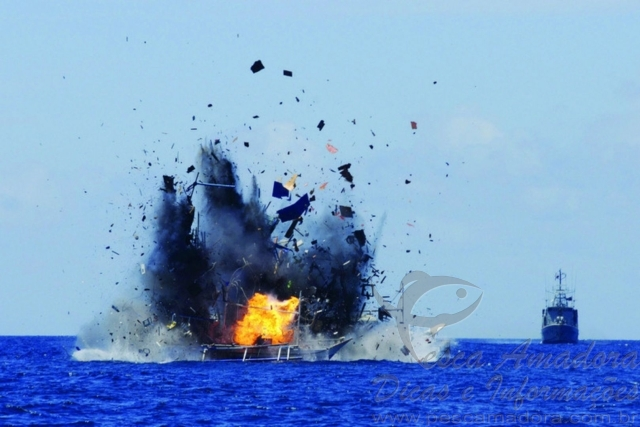 Indonesia afunda mais 27 barcos por praticarem pesca ilegal no pais 5