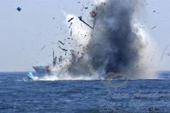 Indonesia declara ter afundado mais 34 barcos usados na pesca ilegal