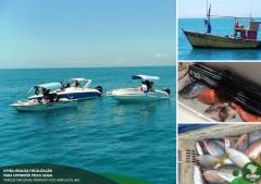 Instituto Chico Mendes fiscaliza pesca em Abrolhos