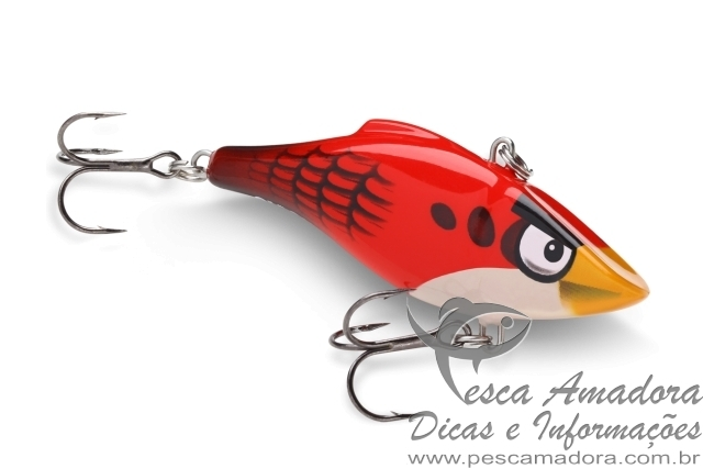 Isca rapala angry birds red
