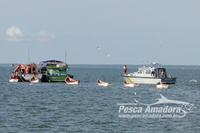 JF condena proprietario de embarcacoes em 40 Mil Reais em multa por pesca ilegal no RS